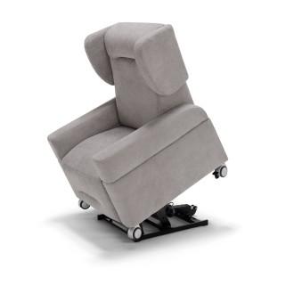Ebeltoft stol på hjul - stof