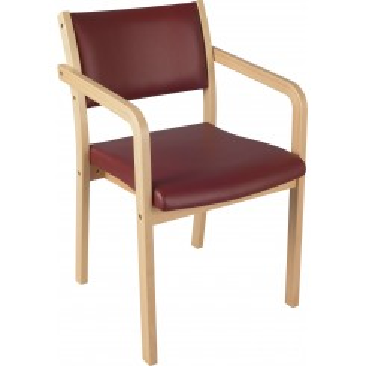 Opal 2 med armlæn otium spisebordsstol