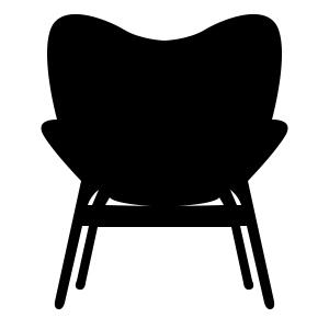 Lænestole og loungestol til hjemmet, venteværelet eller receptionen