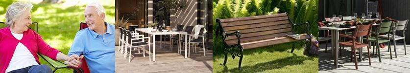 Havemøbler specielt velegnet til ældre fra stolespecialisten