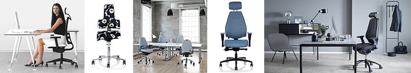 Kategori kontostole hos stolespecialisten er vi eksperter i kontorstole
