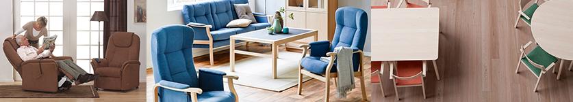 Otiumstole, hvile stole samt gode solide og komfortable spisebordsstole. Udviklet specielt til dig der har brug for lidt mere støtte i hverdagen