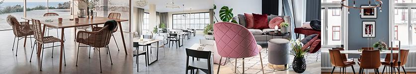 Rowico, house doctor, umage, spisebordsstole i mange farver styles og prisklasser