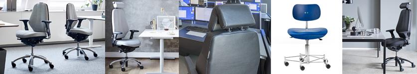Ergonomiske kontorstole fra stolespecialisten til gode priser