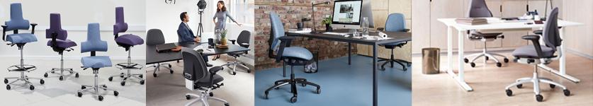 Komfortable kontorstole fra stolespecialisten