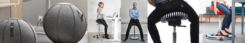 Saddel og Supportstole fra stolespecialisten.dk